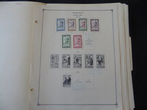 Morocco 1956-1974 Stamp Collection on Scott International Pages