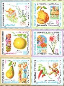 TUNISIA SC# 561-566 MNH