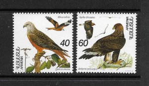 BIRDS - ARMENIA #499-500  MNH