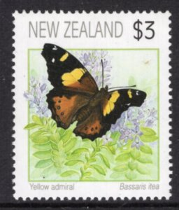 New Zealand 1078 Butterfly MNH VF