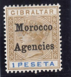 Great Britain Offices In Morocco #18a Very Fine Mint Original Gum Hinged
