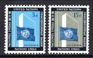 UN New York 108-109 MNH VF