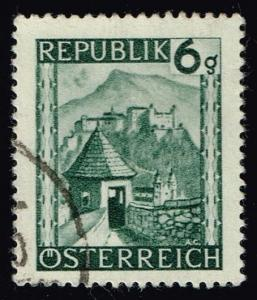 Austria #458 Hohensalzburg; Used (0.25)