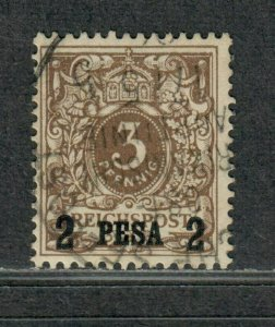 German East Africa Sc#1 Used/VF, Signed, Cv. $47.50