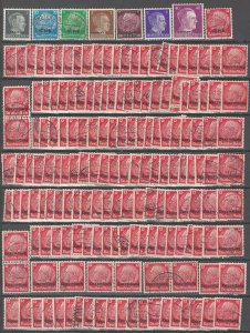 COLLECTION LOT # 2496 GERMANY 169 OCCUPATION STAMPS 1940+ CV+$83 CLEARANCE