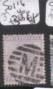 India SG 116 VFU (2dkn)