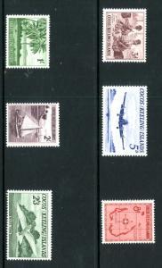 Cocos Island 1-6 MNH SCV $46.70