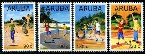HERRICKSTAMP NEW ISSUES ARUBA Sc.# 624-27 Children