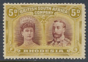 British South Africa Company / Rhodesia SG 141a  perf 14  Mint see scans /det...