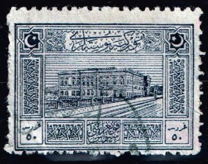 TURKEY Stamp 1922 National Motifs USED 50 PIA