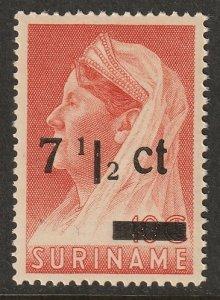 Suriname 1945 Sc 183 MNH**