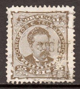Portugal - Scott #60c - Used - Small thin - SCV $2.60