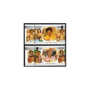 Isle of Man 679-680,MNH.Michel 674-675. EUROPE CEPT-1996.QE II,Anne.