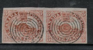 Canada #1 Very Fine - Extra Fine Used Pair **With Certificate**
