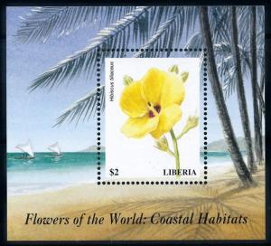 [67327] Liberia 1999 Flora Flowers Blumen Souvenir Sheet MNH