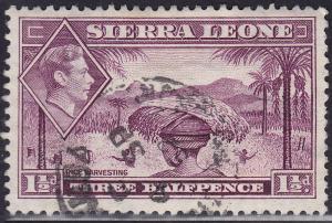 Sierra Leone 175A USED 1941 Rice Harvesting
