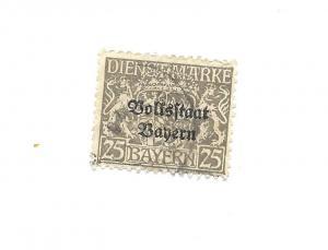 Bavaria 1918 - Scott #O26 *