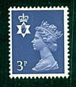 Northern Ireland - #NIMH2 Machin Queen Elizabeth II - MNH