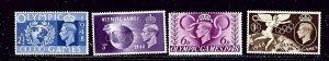 Great Britain 271-74 MLH 1948 Olympics      (RR)