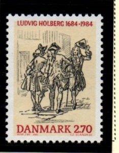 Denmark  Scott  765 1984 Holberg stamp mint NH