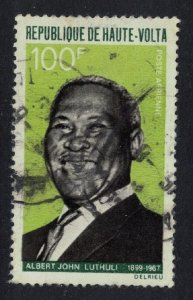Upper Volta Albert Luthuli 'Workers for Peace' 1968 Canc SG#253