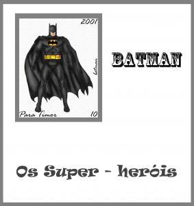 TIMOR SHEET IMPERF BATMAN COMICS ANIMATION