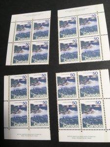 Canada USC  #598iii Mint Plate 1 Type II MS VF-NH Cat. $200.