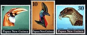 Papua New Guinea #399-401  MNH CV $9.50 (X1289)