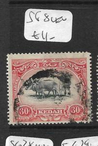 MALAYA KEDAH (P0805B) COW  30C  SG 8  VFU