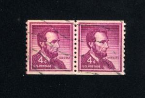 USA #1058  2  used 1954-1973 PD .12