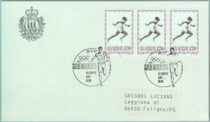 89847 - SAN MARINO - Postal History - SPECIAL POSTMARK 1987  SPORT  Athletics