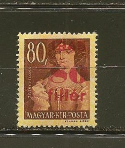Hungary 684 Surcharged Mint Hinged