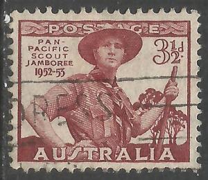 AUSTRALIA 249 VFU BOY SCOUTS T296-3