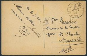French Occupation of Rhineland - T & P 22 Trier 1923 S1244