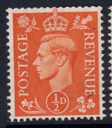 GB KGVI 1950 SET of Pale Colours SG503-508 Mint Hinged
