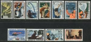 Australia Antarctic Territory complete set mint o.g.