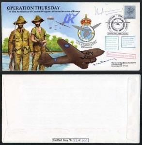 Operation Thursday 40th Ann of VE Day Signed by R. Williams and S. Holloway