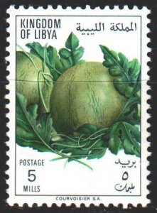 Libya. 1969. 268 from the series. Melons, fruits. MNH.