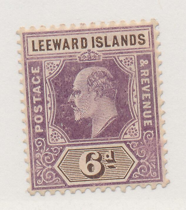 Leeward Islands Stamp Scott #35, Mint Hinged - Free U.S. Shipping, Free World...