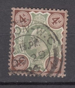 J27543 1902-11 great britain used #133 king