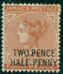 Jamaica #27  Mint  Scott $40.00