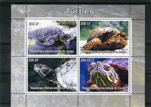 TURTLES Sheet Perforated Mint (NH)
