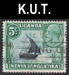 Kenya Uganda Tanzania Scott 47a type II F to VF used.
