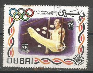 DUBAI, 1972, CTO 35d Olympic Emblems Scott 156