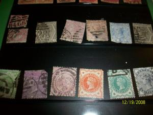 Great Britain Queen stamps
