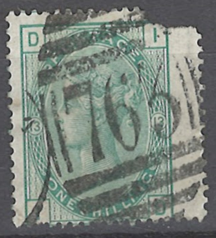 COLLECTION LOT # 2226 GREAT BRITAIN #64p13 ( FAULTY) 1873 CV=$120