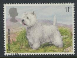Great Britain  SG 1077 SC# 853 Used / FU with First Day Cancel - Dogs