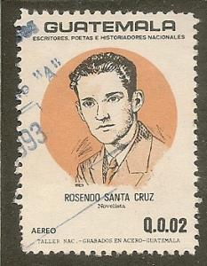 Guatemala   Scott  C819    Novelist      Used