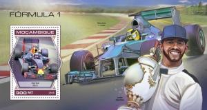 Mozambique - 2018 Formula 1 Racing - Stamp Souvenir Sheet - MOZ18421b