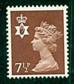 Northern Ireland - #NIMH9 Machin Queen Elizabeth II - MNH